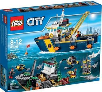 LEGO City - Plavidlo pro hlubinný mořský výzkum 60095 - 60095