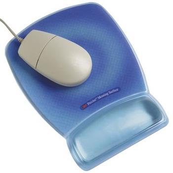 3M Podložka pod myš s oporou zápěstí - modrá (MWJ309BE) - 70-0710-8078-5