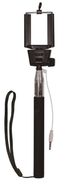 VAKOSS monopod na SELFIE s kabelem minijack 3,5mm ST-1615K černý - ST-1615K