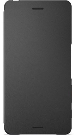 Sony Style Cover SCR52 Flip Xperia X, Black - 1301-5833