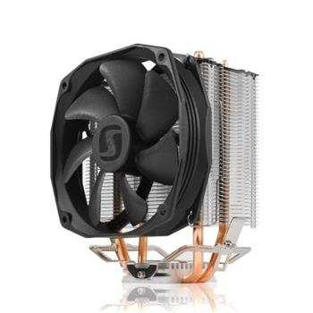 SilentiumPC chladič CPU Spartan 3 LT HE1012/ ultratichý/ 100mm fan/ 2 heatpipes/ PWM/ pro Intel i AMD - SPC145