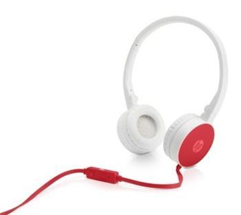 HP sterofonní sluchátka H2800 Cardinal red - W1Y21AA