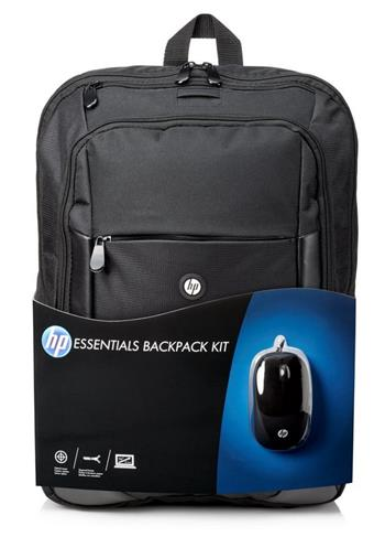 "HP 16"" Essentials Backpack Kit, batoh na notebook + myš E5L03AA - E5L03AA"