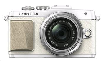 Olympus E-PL7 1442 Pancake Zoom Kit wht/slv - V205073WE001