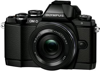 Olympus E-M10 1442 EZ kit black/black - V207023BE000