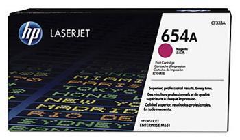 HP 654A Magenta LJ Toner, CF333A - CF333A