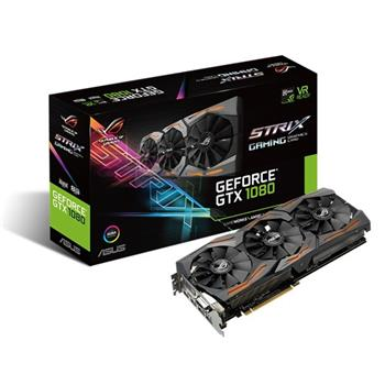 ASUS STRIX-GTX1080-A8G-GAMING - 90YV09M2-M0NM00