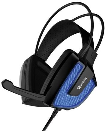 Sandberg herní sluchátka Derecho s mikrofonem, černá - 125-77