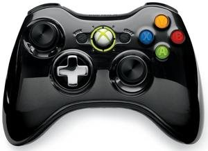 Xbox 360 Wireless Controller Chrome Black - 43G-00059