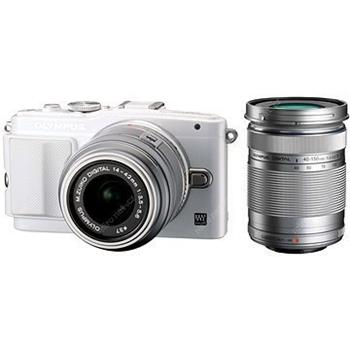 Olympus E-PL6 DZ Kit white/silver - V205052WE000