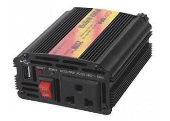 NAPĚŤOVÝ MĚNIČ CARSPA CAR200U-12, 12V/230V+USB 200W MODIFIKOVANÁ SÍNUS - CAR200U-12