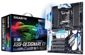 GB GA-X99-Designare EX, Intel X99, 2011-v3, ATX - GA-X99-Designare EX