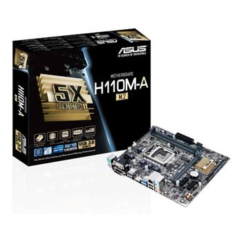 ASUS H110M-A/M.2, Intel H110, 1151, mATX - 90MB0R60-M0EAY0
