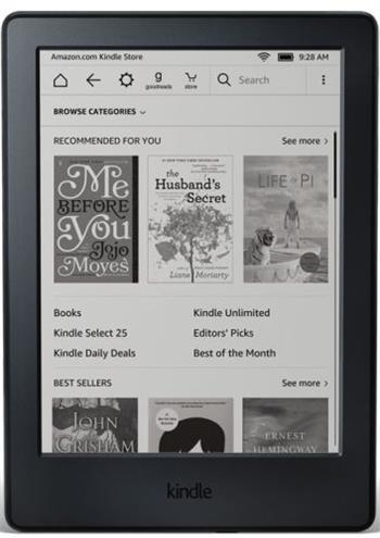 Amazon Kindle 8 (2016) černý, sponzorovaná verze - Kindle 8