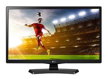"""LG LCD IPS 24MT48DF / 23,6"""" / 1366x768 / 5M:1 / 5ms / HDMI / DVB-T/C / SCART / USB / černý - 24MT48DF-PZ.AEU"""