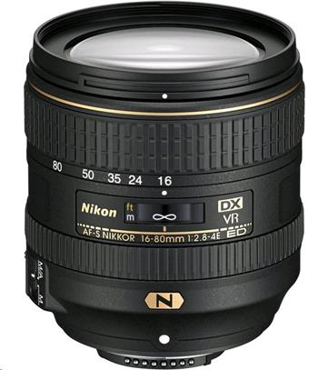 Nikon AF-S VR DX Zoom-Nikkor 16-80mm f/2.8-4E ED (5x) - JAA825DA