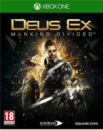 Deus Ex: Mankind Divided XONE - 5021290072176