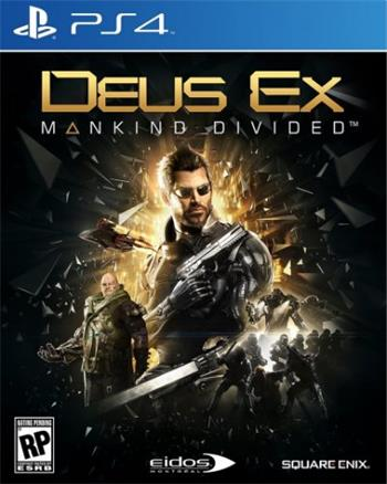Deus Ex: Mankind Divided PS4 - 5021290072152