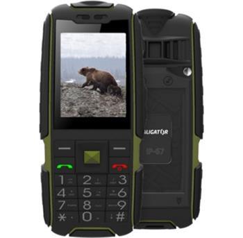 Mobilní telefon ALIGATOR R20 eXtremo černo-zelený - AR20BGN