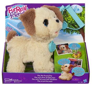 Hasbro Fur Real Friends - kakající pejsek - B3527EU4
