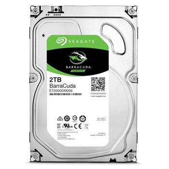 Seagate Barracuda 2TB 3.5'' HDD, SATA3, 7200RPM - ST2000DM006