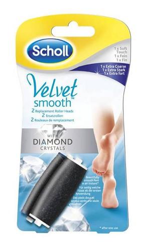 SCHOLL Velvet náh.-1jemný+1 ex.hrubý - SCHOLL Velvet