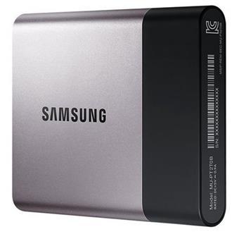 Samsung externí SSD T3 1TB, čtení/zápis až 450Mb/s, USB 3.1/3.0 - MU-PT1T0B/EU