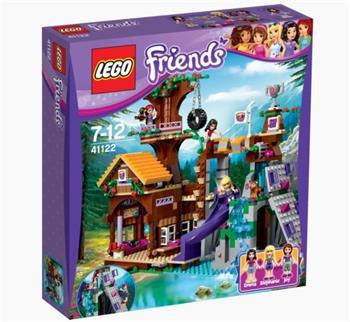 LEGO Friends - Dobrodružný tábor - dům na stromě 41122 - 41122