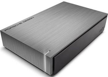 LaCie Porsche Design Desktop 4TB tm.šedá - LAC9000384EK