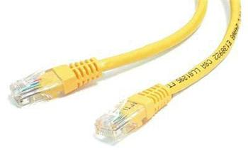 UTP kabel cat.6 0,25m žlutý - sp6utp002Y