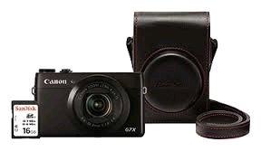 Canon PowerShot G7 X - Premium kit - 9546B012