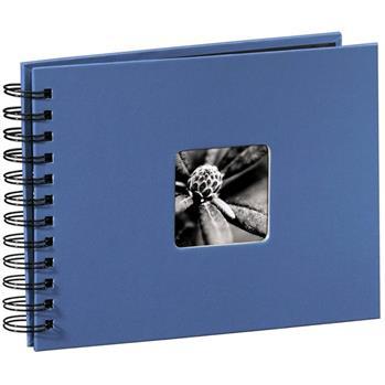 Hama album klasické spirálové FINE ART 24x17 cm, 50 stran, azurové - 113677