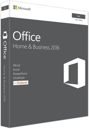 Microsoft Office pro podnikatele 2016 Mac CZ - W6F-00999