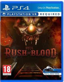 Until Dawn: Rush of Blood PS4 VR - PS719846857