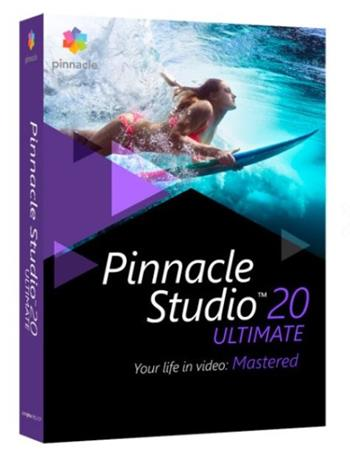 Pinnacle Studio 20 Ultimate, střihový software CZ - PNST20ULMLEU