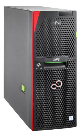 FUJITSU Primergy TX1330M2 - E3-1220v5 4C/4T, 8GB, BEZ HDD, 4xBAY3.5 H-P, RP1-450W, TOWER - VFY:T1332SC020IN