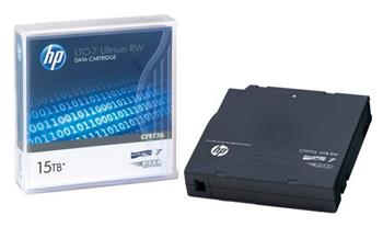 HP LTO-7 Ultrium RW Data Cartridge 15TB, C7977A - C7977A