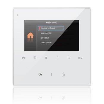 "XtendLan Bytový monitor pro D2, barevné TFT 4,3"", dotyk.tlačítka, 2-drát - DPM-D244"