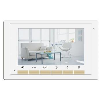 "XtendLan Bytový monitor pro D2, barevný displej 7"", dotyk.tlačítka, 2-drát - DPM-D276"