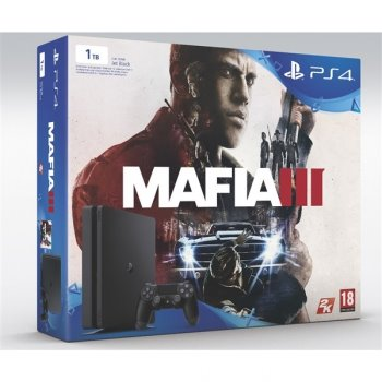 Sony Playstation 4 1TB Slim + Mafia 3 - PS719896654