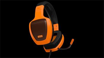 Gaming Headset OZONE RAGE Z50 GLOW ORANGE - OZRAGEZ50GLO