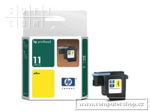 HP No. 11 Yellow Print Head pro DSJ 500,800,CIJcp1700,BI2xxx - C4813A
