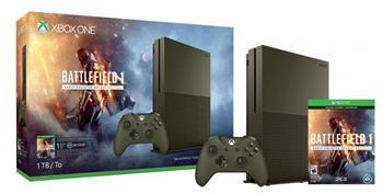 Microsoft XBOX ONE S 1TB Speciální Edice + 1 x hra (Battlefield 1) + 1 měsíc EA Access - 234-00046