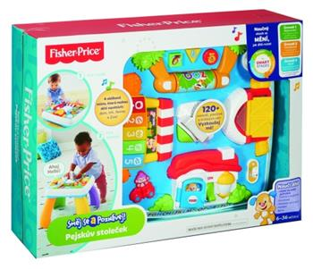 Fisher Price pejskův stoleček smart stages - DRH38
