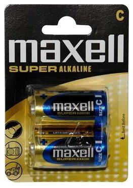 Maxell Super Alkaline C 1,5V malé mono (2pack) - LR14 2BP C
