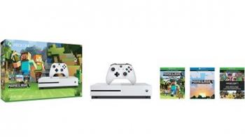 Microsoft XBOX ONE S 500 GB + 1 x hra (Minecraft Favorites) - ZQ9-00047