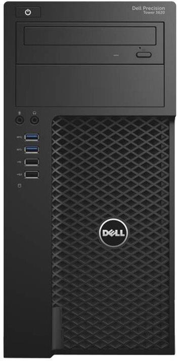 DELL Precision T3620 MT / i7-6700 / 16GB / 256SSD+1TB / K620 2GB / DVD-RW / Win7 Pro 64bit - 3620-8443