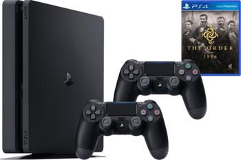 SONY PlayStation 4 500GB Slim + Dualshock + The Order - PS719845553ORD