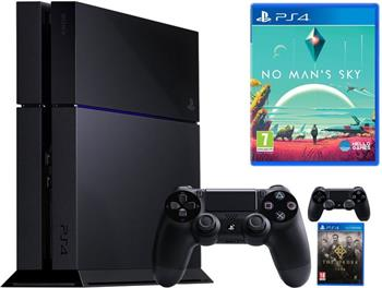 SONY PlayStation 4 - 1TB + No Man´s Sky + Dualshock4 + The Order - PS719816751ORD