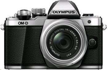 Olympus E-M10 Mark II Pancake DZ kit silver/black - V207053SE000